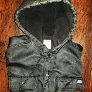 Large All black Genuine Dickies Jacket Polyester